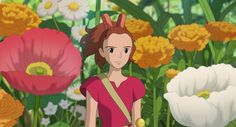 The Secret World of Arrietty<3-such a beautiful movie!