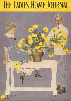 C. Coles Phillips, Fade Away Girl, Vintage 1911 Antique, Art Print, Cover Only. #Vintage