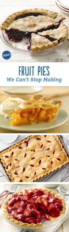 """When people say """"sweet summertime,"""" we're pretty sure they're talking about one of these fruit-filled pies."""