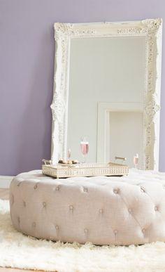 Elegant Floor Mirror I want! And this colour for my room next :D Decoration Inspiration, Room Inspiration, Decor Ideas, Decorating Ideas, My New Room, My Room, Deco Tape, Decoration Originale, Interiores Design