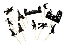 Shadow Theatre Christmas Cards Stocking Fillers | little citizens boutique