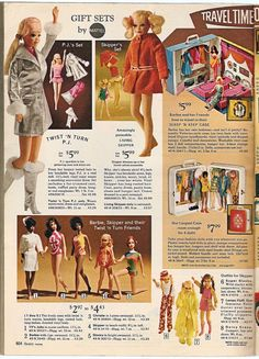 Barbie, Skipper, and Julia dolls - Sears Wish Book