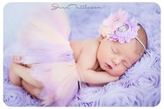 Newborn Baby Girl Photo; *[Photo credit: Jenn Tuttle.com]