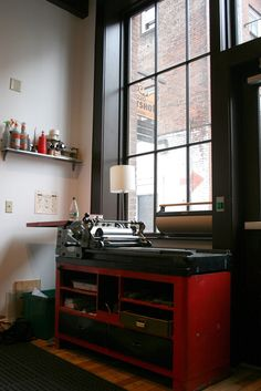 I would love a letterpress in my home