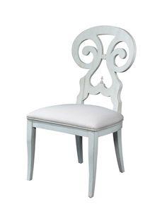 Fine Furniture Summer Home Summer Home White Side Chair