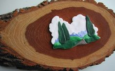 Miniature Polymer Clay Scene by Parrish on Etsy, $45.00