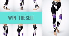 To celebrate the upcoming grand opening, Pussy with Attitude is giving away some aaaaaaaweomse goodies and we want you to score some! Enter to win these super duper cool leggings!