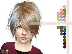 Animate hair 52-KYO kids | Studio K Creation