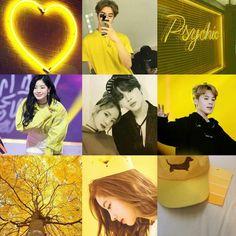 DaMin my Bias Wrecker Couple Bts Twice, Twice Dahyun, Bias Wrecker, Bts Jimin, Ulzzang, Aesthetics, Kpop, Wallpaper, Yellow