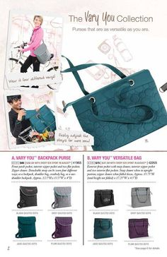 Love these new looks from Thirty one.  www.mythirtyone.com/aprildawnhughes