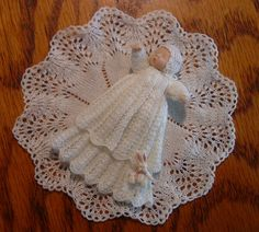 Chrystal's Designs: Miniature Knitting Patterns Belly Button Baby