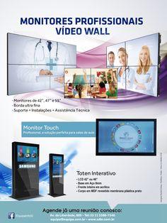 Monitor Profissional Vídeo Wall Samsung