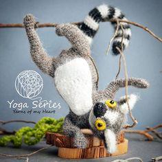 Crochet lemur pattern, amigurumi lemur pattern, crochet lemur on wire   #yarnsofmyheart #crochet