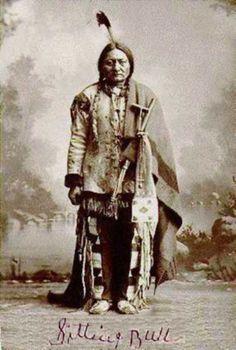 Tȟatȟáŋka Íyotake autographed photo as Sitting Bull - http://www.sittingbull.org/