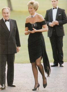Princess Diana - 1994 at Charity Dinner at the Serpentine Gallery, Hyde Park