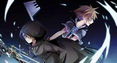 Asukirabing, Kingdom Hearts, Kingdom Hearts 358/2 Days, Kingdom Hearts II, Roxas, Sora (Kingdom Hearts)