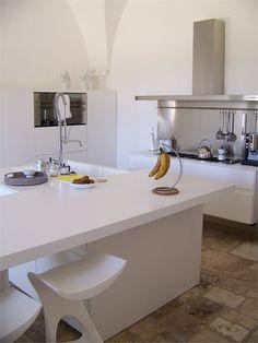 Masseria by Maurizio Paoli. Love the kitchen, hate the floor.