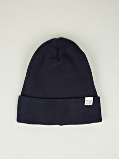 Men's Extrafine Merino Beanie, by Norse Projects @ oki-ni. $64