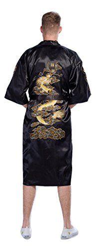 Samurai Market Yukata Japonais Authentique Kimono Modele Dragon Puissant