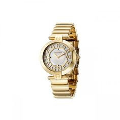 AIGNER ladies watch Siena, gold plated - Swiss Made - watchcase and  und bracelet made of steel, gold plated - watchcase Ø 36 mm - quartz mechanism - silver watch face, watch hands gold plated - mine
