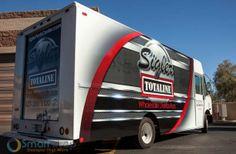 Commercial vehicle wrap design