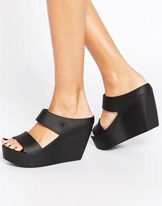 Image 1 ofMelissa Creatives Wedge Strap Sandals