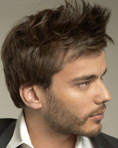 Cortes de Pelo [Hombre - Mujer] - Taringa! Taper Fade, Modern Hairstyles, Neymar Jr, Haircuts For Men, Bearded Men, Male Models, Gentleman, Blond, Hair Cuts