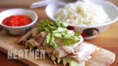 "Hainanese Chicken Rice - ""The F Word"" Tribute"