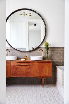 Bathroom home decor for the master bathroom renovation. Learn master bathroom organization, bathroom decorating recommendations, master bathroom tile suggestions, master bathroom paint colors, and much more. Bad Inspiration, Bathroom Inspiration, Bathroom Ideas, Bathroom Organization, Bathroom Storage, Shower Ideas, Budget Bathroom, Bathroom Layout, Bath Ideas