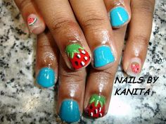 STRAWBERRIES - Nail Art Gallery by NAILS Magazine