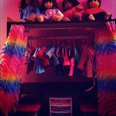 American Girl Closet #DIY