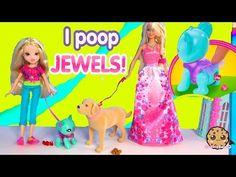 Moxie Girlz Poopsy Pet Koala Eats Treats, Poops, Playset with Princess Barbie + Tanner Dog Toy Video - YouTube