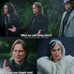 "Rumple and Cruella - 4 * 15 ""Poor, Unfortunate Souls."""
