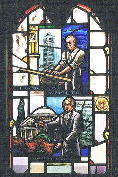 Stained Glass Windows: All Saints Episcopal Church--Detroit MI