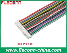 JST PHR-15 2.0mm Pitch Wire to Board Connector and Cable Assembly