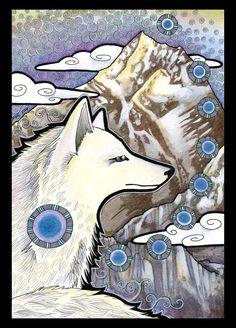 Everest and the White Fox by *Ravenari on deviantART