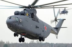 Mil Mi-26 Heavy lift cargo helicopter NATO reporting name: Halo