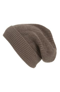 Phase 3 'Stand Up' Basket Knit SlouchyBeanie