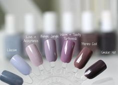 """Check out my blog www.essieenvy.com to see all these gorgeous grey-purples compared! {link in bio} #essieenvy"""