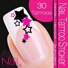 Nail Tattoo Sticker Zipper - black - - DESIGN NAIL TATTOO STICKER Quality - Made in Germany The Design Nail Art Tattoos permit, without much time and effort, a professional look of your nails. Nail Decals, Nail Stickers, Mani Pedi, Pedicure, Manicure Ideas, Tattoo Sticker, Deco Stickers, Nailart, Animal Nail Art