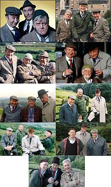 List of LAST OF THE SUMMER WINE characters - Wikipedia, the free encyclopedia year run) 1973 - 2010 Only 2 characters made it from beginning to end. ( Cleggy Ivy) I watch every chance I get. Each group of men were funny in their own right. British Tv Comedies, Classic Comedies, British Comedy, British Actors, Last Of Summer Wine, English Comedy, Bbc Tv Shows, British Humor, Comedy Tv
