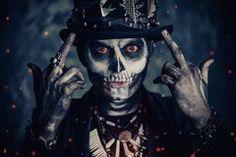 Man Skull Makeup, Baron Samedi, Face Men, Dress Makeup, Voodoo, Horror, Dark, Image, Fictional Characters