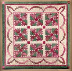 American Quilt Collection-Rambling Rose $12