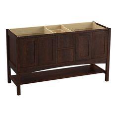 "Kohler K-99559 Marabou 60"" Vanity Cabinet Only - Free Standing Installation Type"
