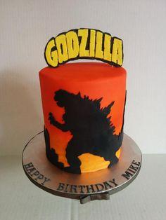 Resultado de imagen para cakes de godzilla