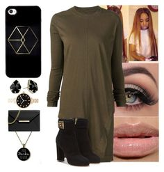 """""""⚫️"""" by yanniixo ❤ liked on Polyvore featuring MAC Cosmetics, DRKSHDW, Salvatore Ferragamo, Marc by Marc Jacobs, MICHAEL Michael Kors and Kendra Scott"""