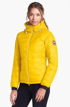 Canada Goose 'Camp' Hooded Down Jacket available at #Nordstrom