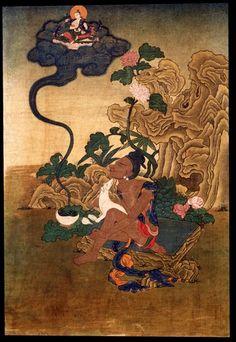 Indian Adept (siddha) - Kukkuripa (HimalayanArt)