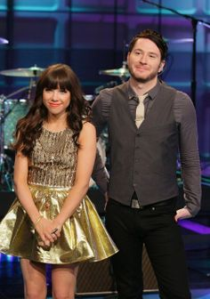 carly & adam. i love her dress... and him. this picture belongs in 'dresses' AND 'handsome'. :P