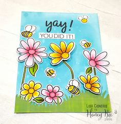 Happy Papercrafts!: Honey Bee Stamps Stamptember Collaboration